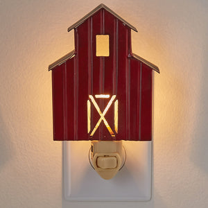 Red Barn Night Light