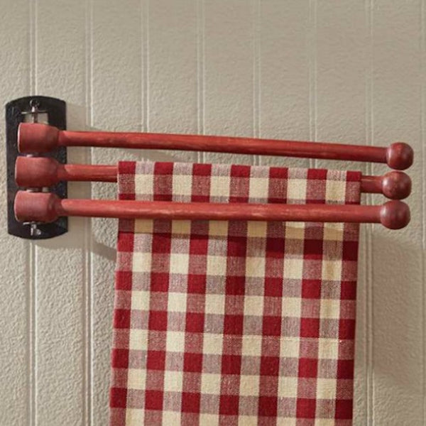 Three Prong Drying Rack - Farmhouse-Primitives