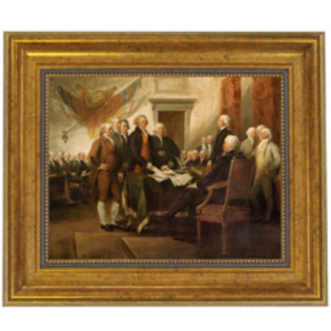 Signing of the Declaration of Independence - Farmhouse-Primitives