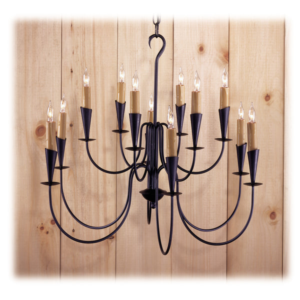 Northbridge Iron Chandelier - Farmhouse-Primitives