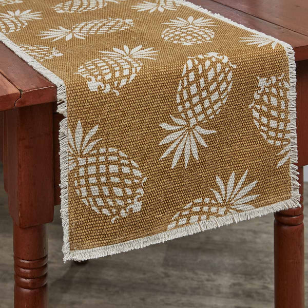 ARRIVING EARLY MARCH Pineapple Table Toppers - Farmhouse-Primitives