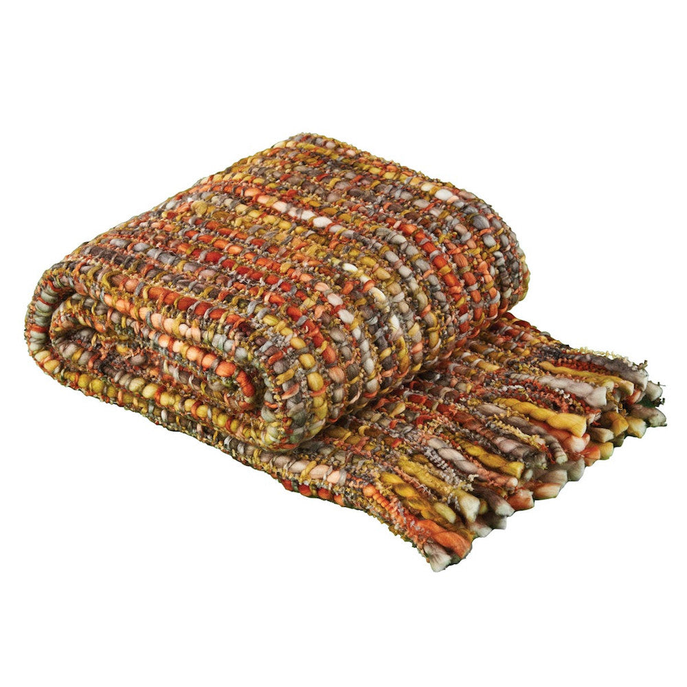 Indian Corn Woven Throw - Farmhouse-Primitives