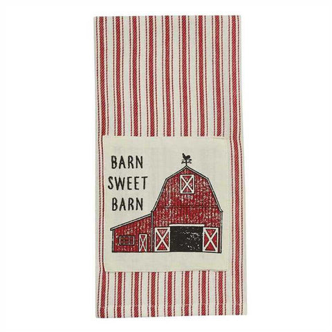 Barn Sweet Barn Towel - Farmhouse-Primitives