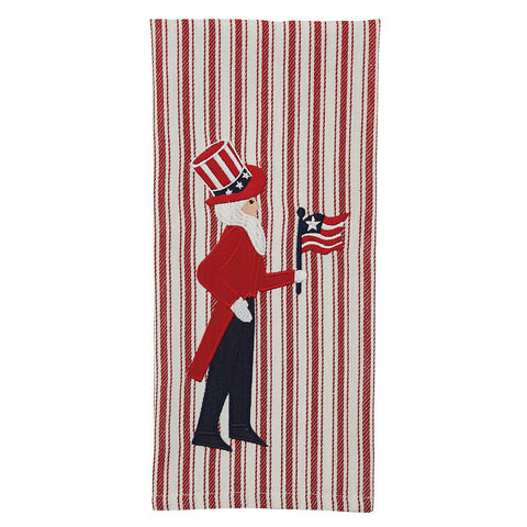 Uncle Sam Dish Towel - Farmhouse-Primitives