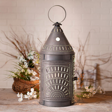 27 inch Blacksmith's Revere Lantern - Farmhouse-Primitives