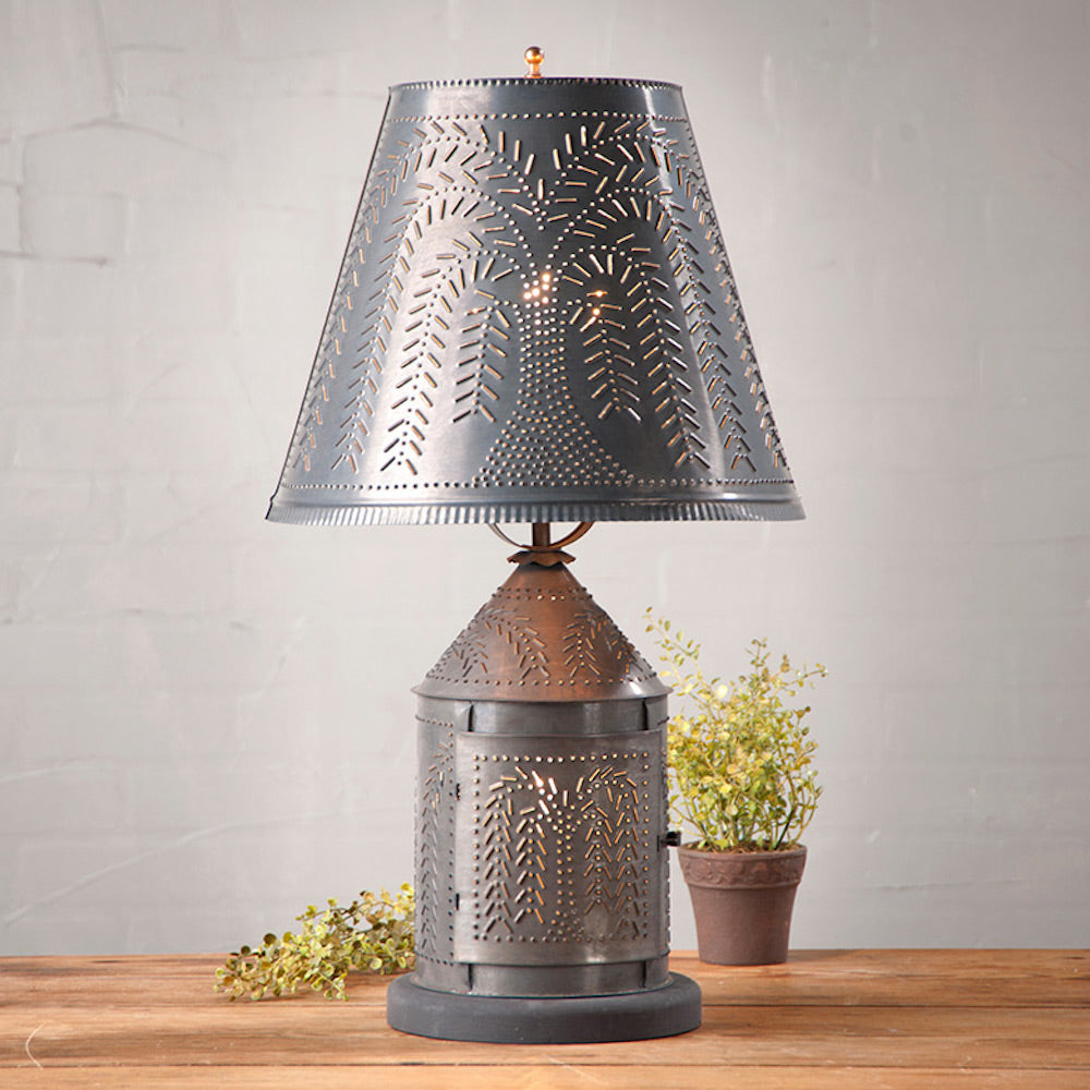 Fireside Table Lamp - Farmhouse-Primitives