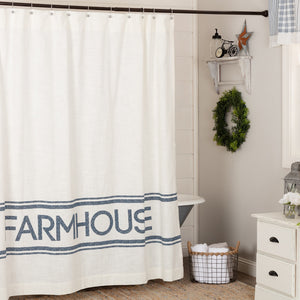 Farmhouse Sawyer Mill Shower Curtain - Farmhouse-Primitives