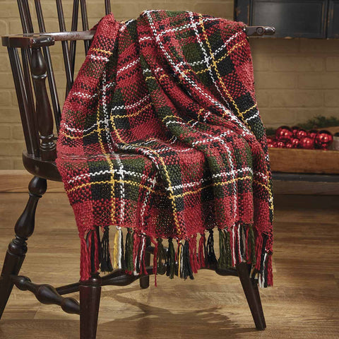 Greenhow Tartan Throw - Farmhouse-Primitives