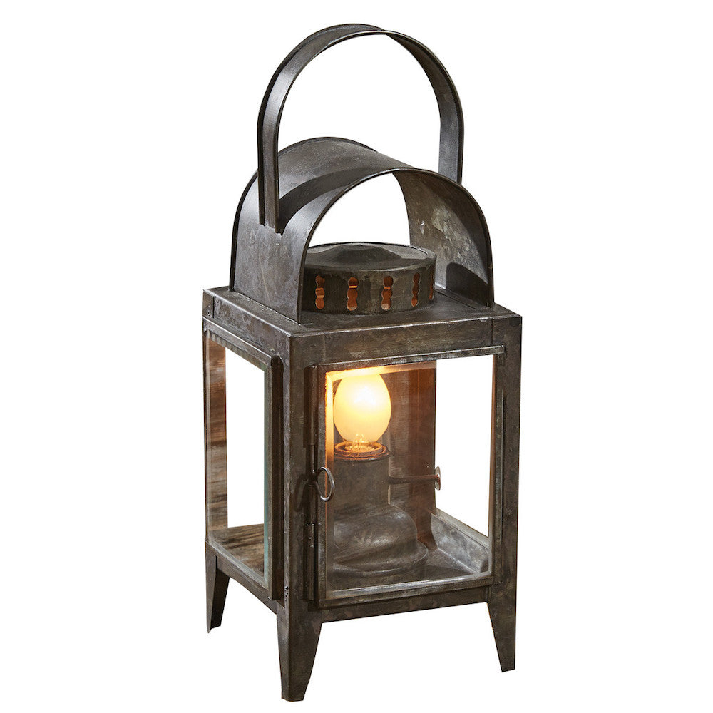 Oil Lantern Accent Lamp - Farmhouse-Primitives