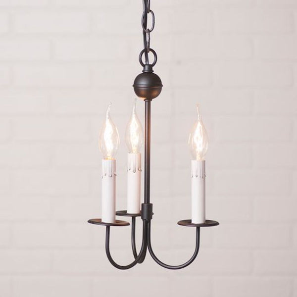 Westford 3 Arm Iron Chandelier STYLE CHOICE - Farmhouse-Primitives