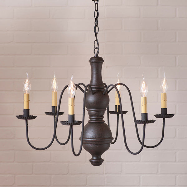 Chesterfield Chandelier - Farmhouse-Primitives