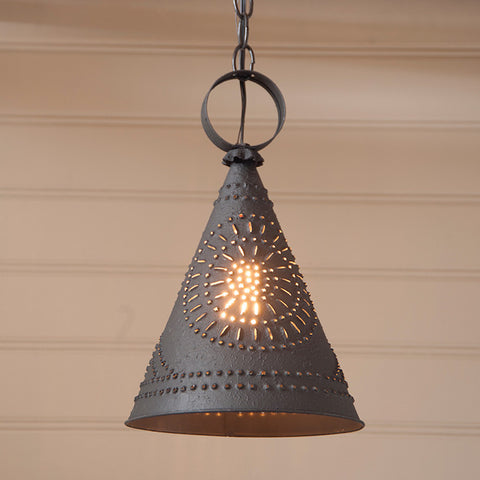 Pennycress Cone Pendant Light - Farmhouse-Primitives