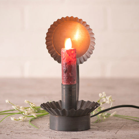 Lodge Chamberstick for Electric Candles