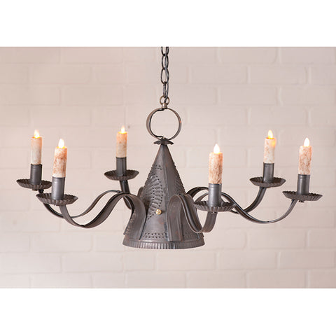 millhouse tin chandelier