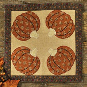 Pumpkin Harvest Accent Mat - Farmhouse-Primitives