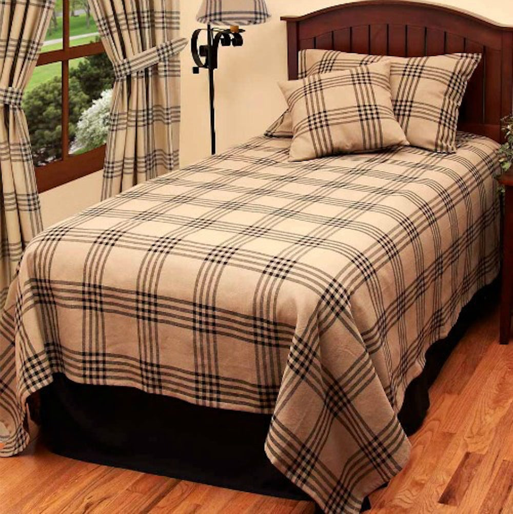 Chesterfield Check Black Bedding