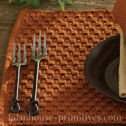 Terra Cotta Table Toppers - Farmhouse-Primitives
