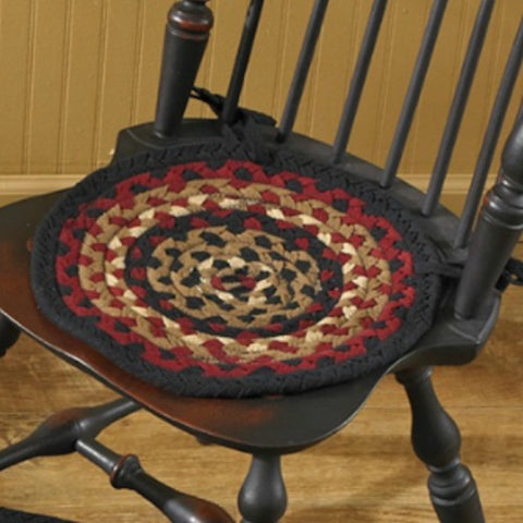 Folk Art Chair Pad - Farmhouse-Primitives