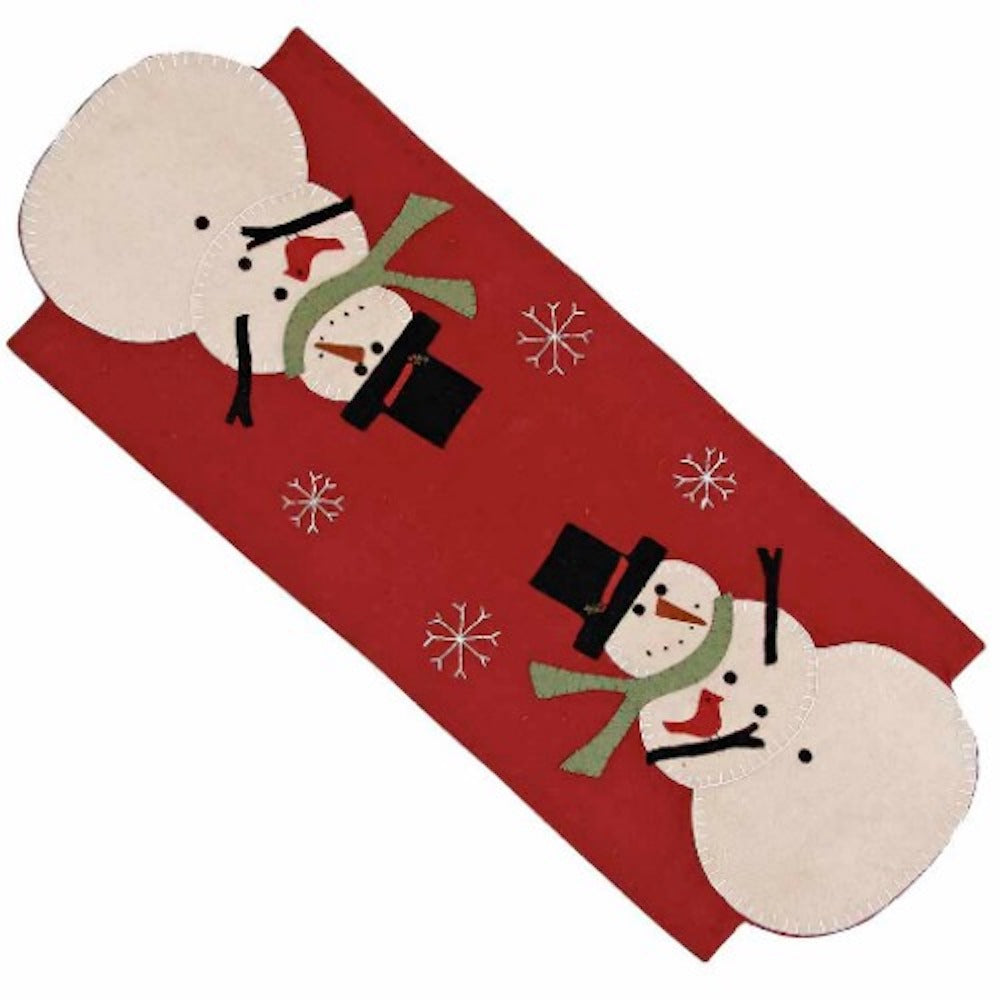 Snow Guy Table Runner