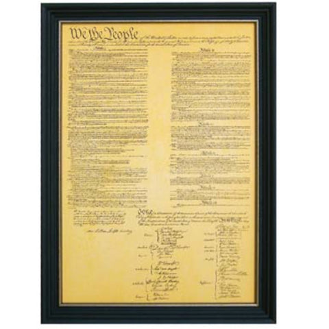 Constitution Framed