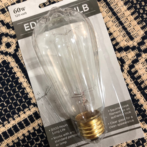 Edison Light Bulb - Farmhouse-Primitives