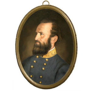 "General ""Stonewall"" Jackson Brass Oval - Farmhouse-Primitives"