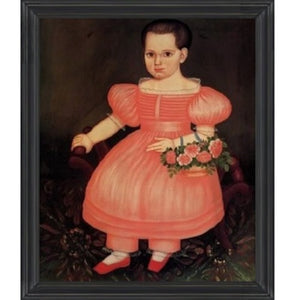 Eliza Pixley Lacey Framed - Farmhouse-Primitives