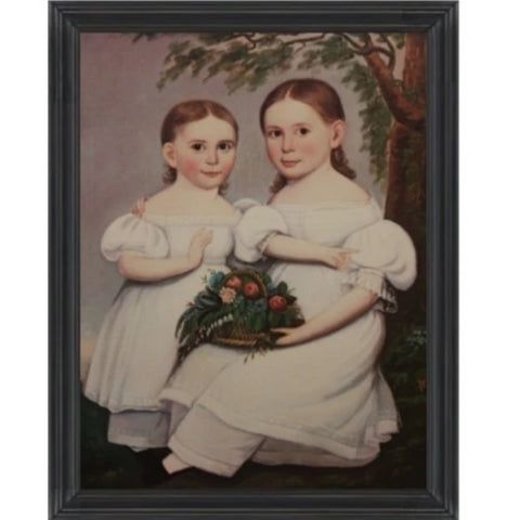 Ellen and Lucy Tracey Framed - Farmhouse-Primitives