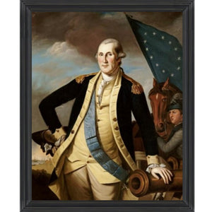 General George Washington by Peale Framed Print - Farmhouse-Primitives