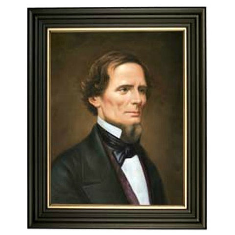 Jefferson Davis Framed Print - Farmhouse-Primitives