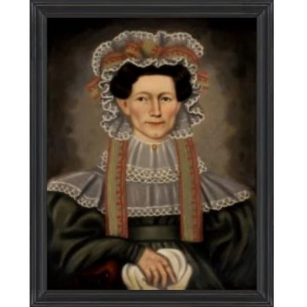 Lady of Squire Framed - Farmhouse-Primitives