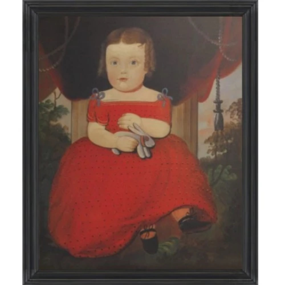 Little Miss Fairfield Framed - Farmhouse-Primitives