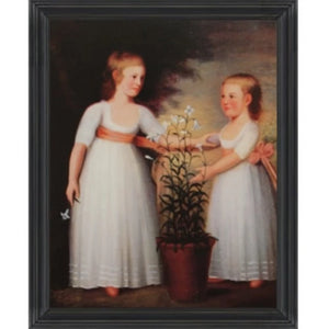 The Cheever Children Framed - Farmhouse-Primitives