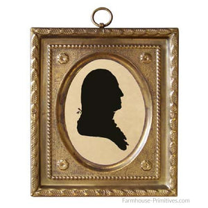 George Washington Bust Silhouette - Farmhouse-Primitives