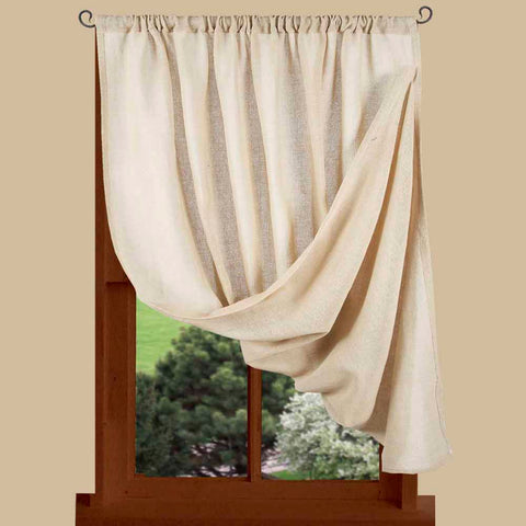 Heirloom Single Panel Curtains COLOR CHOICE - Farmhouse-Primitives