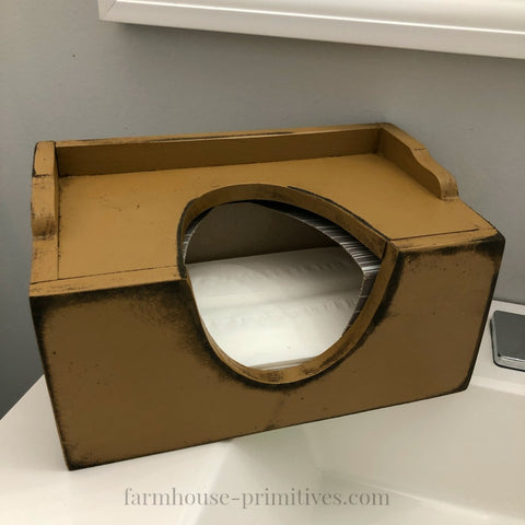 Tissue Box Cover COLOR CHOICE - Farmhouse-Primitives