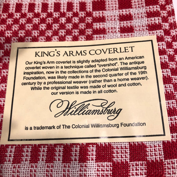 King's Arms Coverlet Collection - Farmhouse-Primitives
