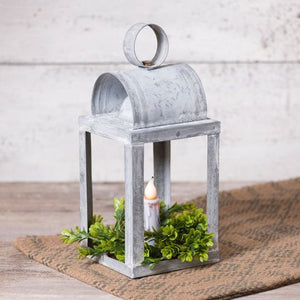Keeping Room Lantern Weathered Zinc - Farmhouse-Primitives