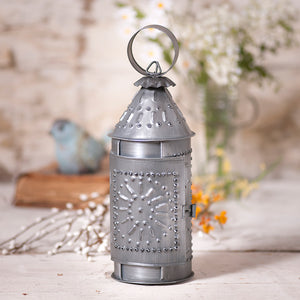 09.5 inch Revere Candle Lantern FINISH CHOICE - Farmhouse-Primitives