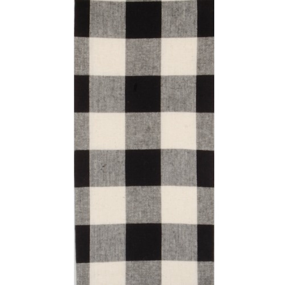 Black Buffalo Check Dish Towel - Farmhouse-Primitives