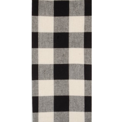 Black Buffalo Check Dish Towel