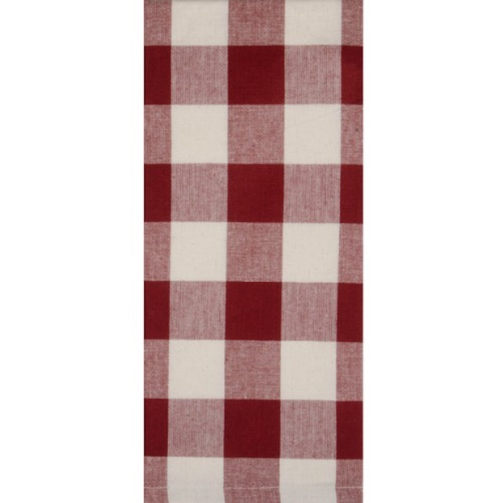 Red Buffalo Check Dish Towel - Farmhouse-Primitives