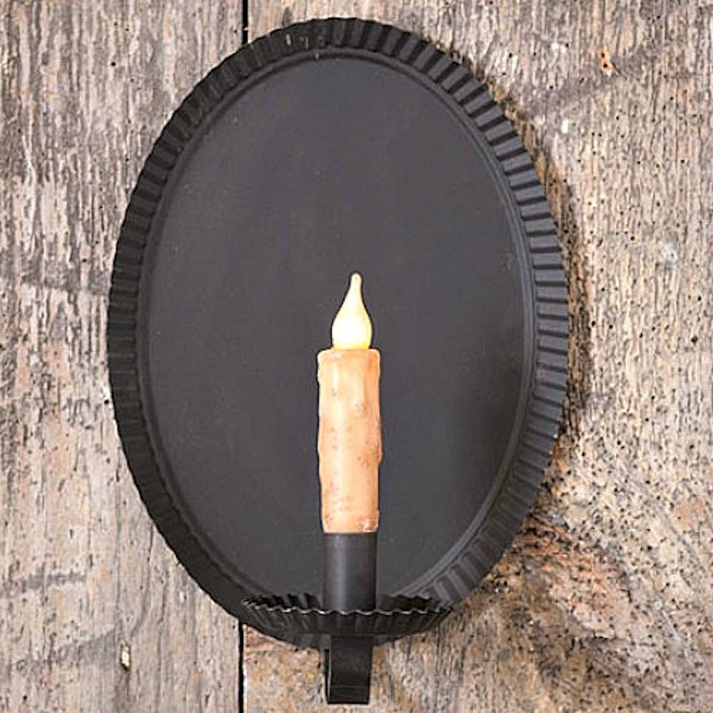 Tinner's Oval Wall Sconce