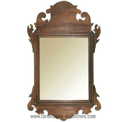 Early American Wall Mirror - Farmhouse-Primitives