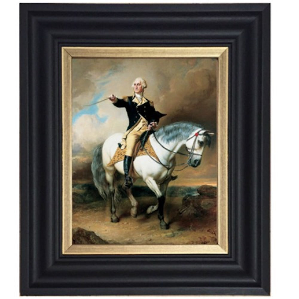 General George Washington on Horse - Farmhouse-Primitives