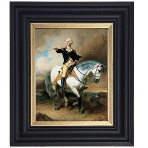 General George Washington on Horse