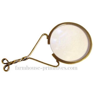 Colonial Magnifying Glass - Farmhouse-Primitives