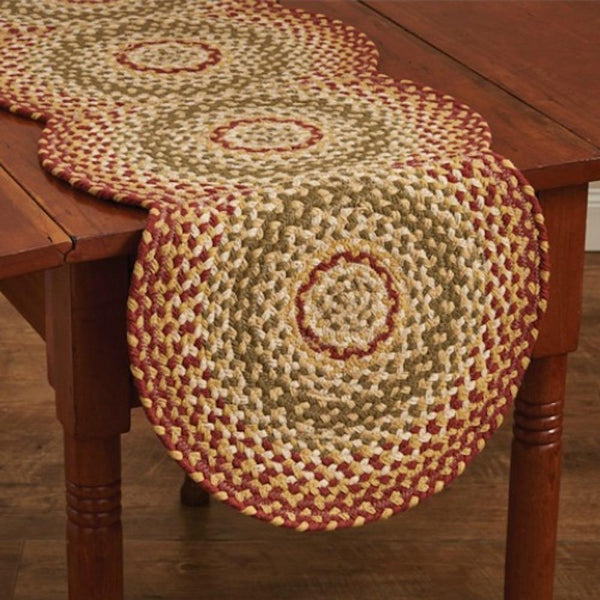Mill Village Braided Table Toppers - Farmhouse-Primitives