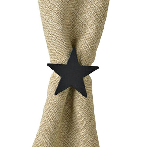 Iron Star Napkin Rings