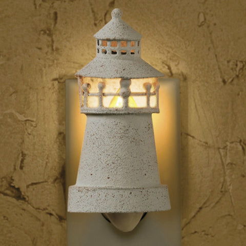 Lighthouse Night Light - Farmhouse-Primitives